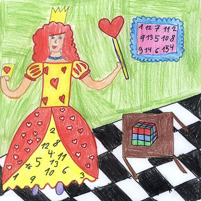 Poznáš Srdcovú kráľovnú?