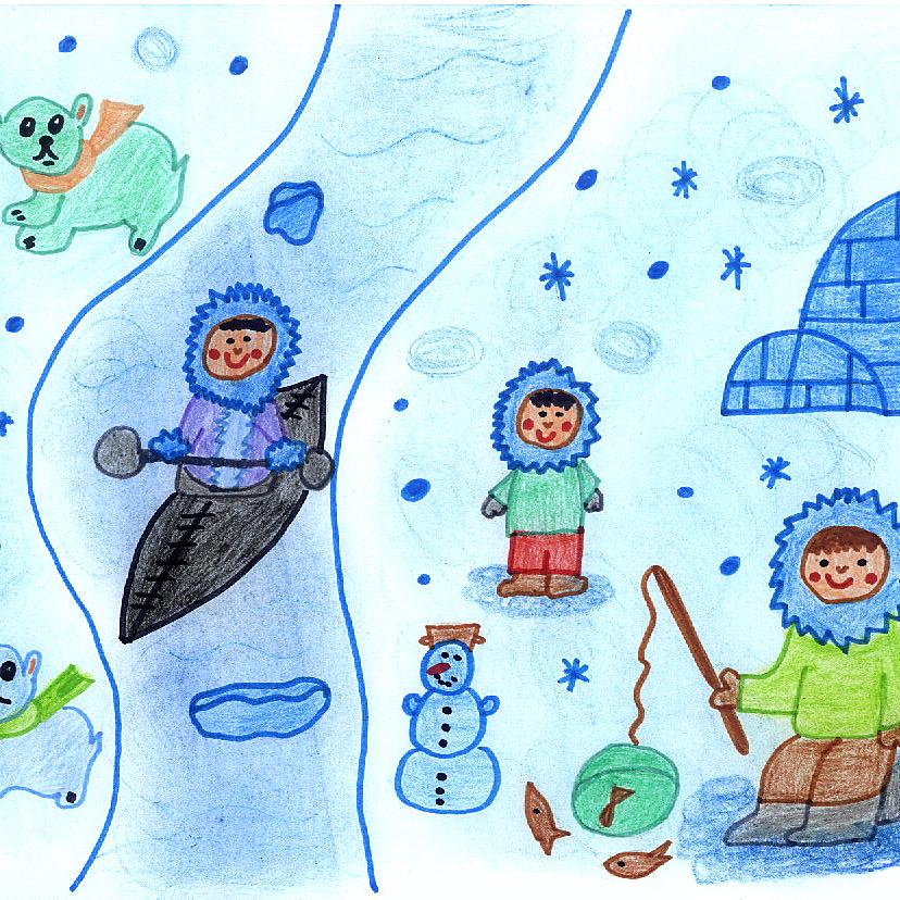 Krajina večného snehu a ľadu